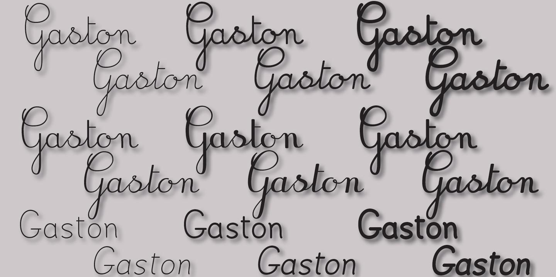 détail Gaston