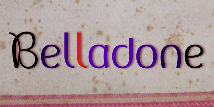 détail Belladone