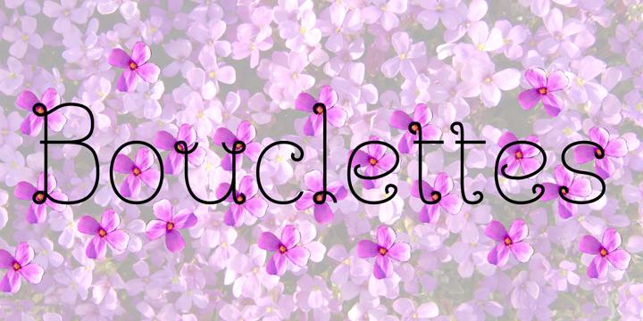 détail Bouclettes
