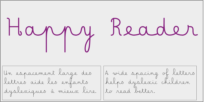 détail Lecteur heureux